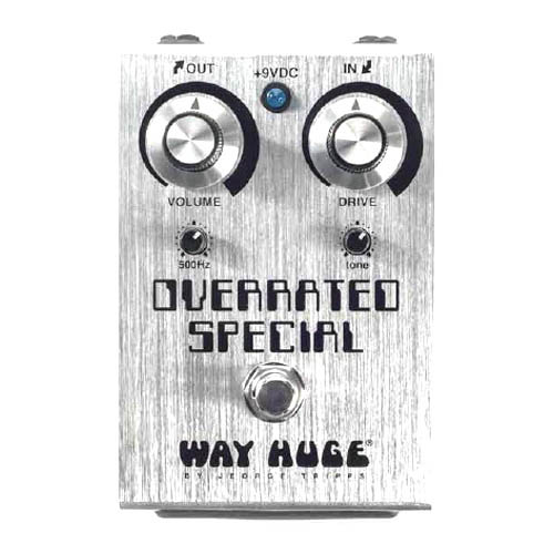WAY HUGE OVERRATED SPECIAL OVERDRIVE [WHE208] 【新製品AMP/FX】