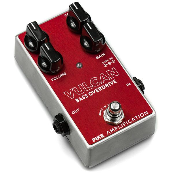 Pike Amplification Vulcan [Bass Overdrive] 【新製品AMP/FX】