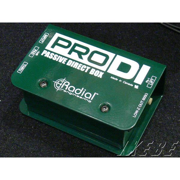 """Radial PRO DI """"Passive Direct Box"""""""