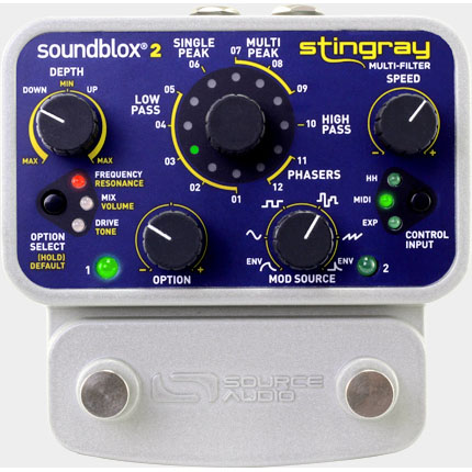 SOURCE AUDIO SA224 Stingray Multi-Filter