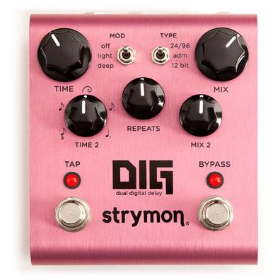 エフェクター strymon DIG 2020 Dual Digital 保証 Delay ikbp5