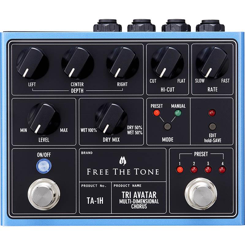 Free The Tone TA-1H [TRI AVATAR Multi-Dimensional Chorus] 【新製品AMP/FX】