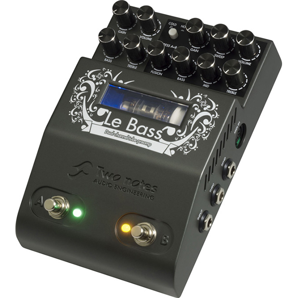 Two Notes Le Bass 【新製品AMP/FX】