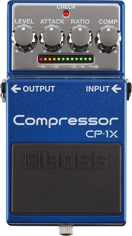 BOSS CP-1X [Compressor] 【期間限定★送料無料】 【新製品AMP/FX】 【ikbp5】 【IKEBE×BOSSオリジナルデザイン缶クージープレゼント】