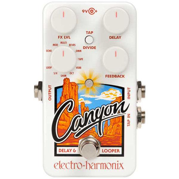 贈り物 Electro【特価】 Electro Harmonix Canyon & [Delay & Loopers]【特価】, クールヴェール:290e5fda --- fabricadecultura.org.br
