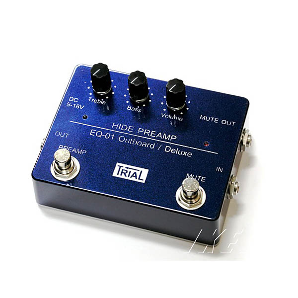TRIAL HIDE PREAMP EQ-01 Outboard/Deluxe