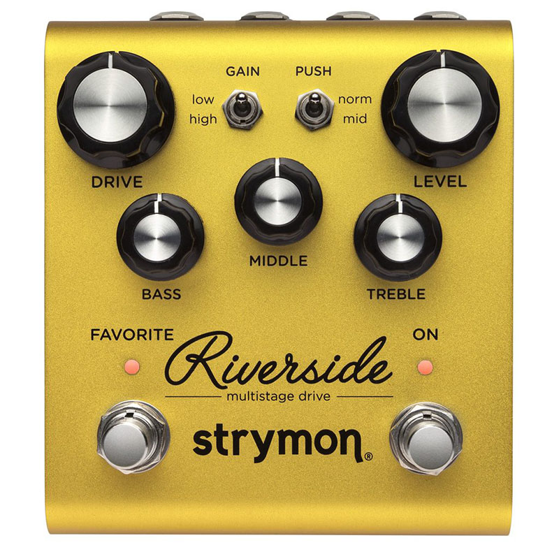 strymon Riverside [multistage drive] 【HOTONE SOUL PRESS プレゼント!】 【ikbp5】