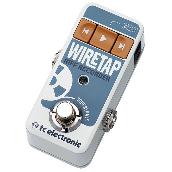 tc electronic WireTap Riff Recorder ※国内正規品