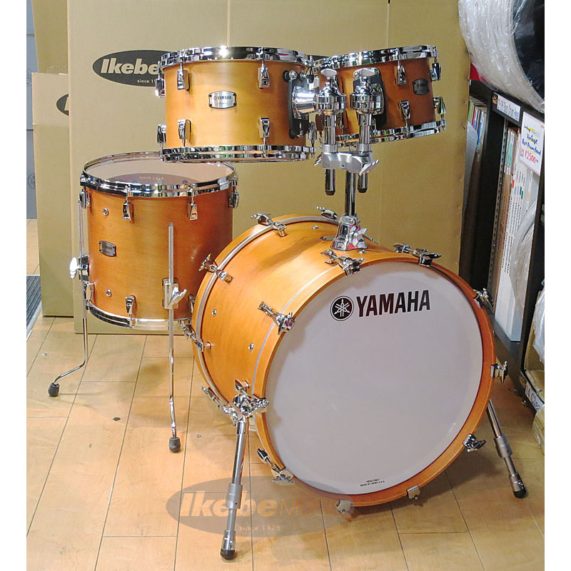 YAMAHA Absolute Hybrid Maple 4pc Drum Set [AMP4F3VN+AMB2016VN] 【BD20、FT14、TT12&10 / Vintage Natural】