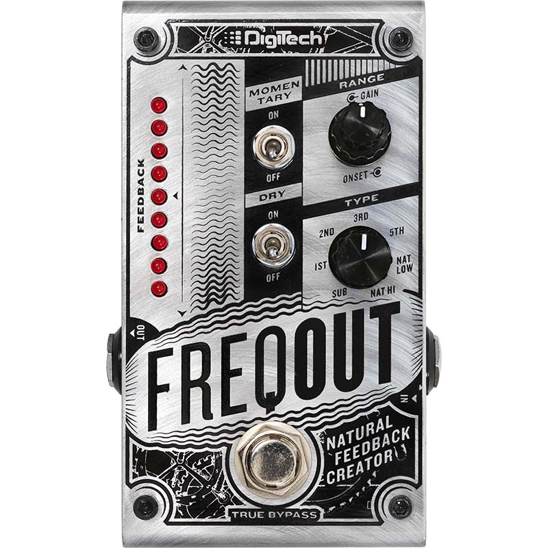 Digitech FreqOut [Natural Feedback Creator]