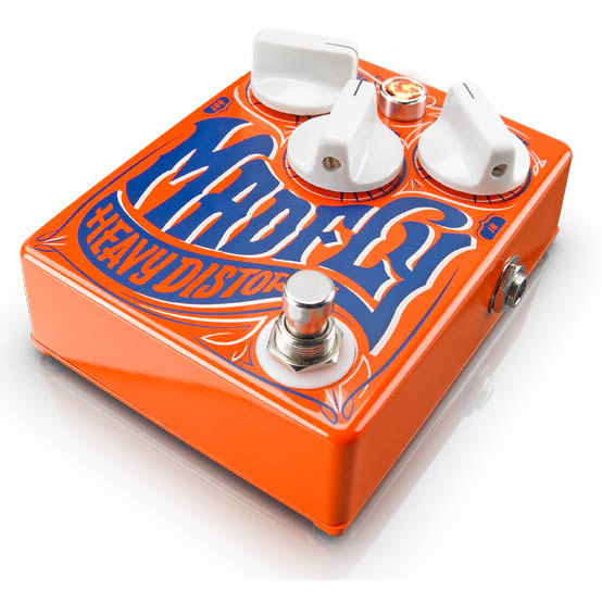 """DR.NO DISTORTION pedal """"MADFLY"""""""