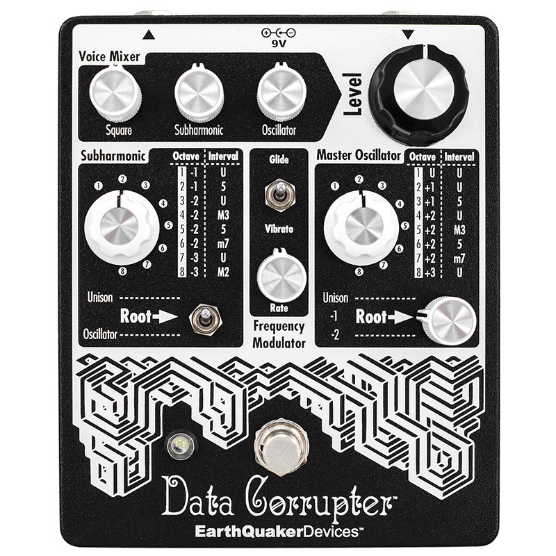 EarthQuaker Devices Data Corrupter Mod Mono PLL Harmonizer