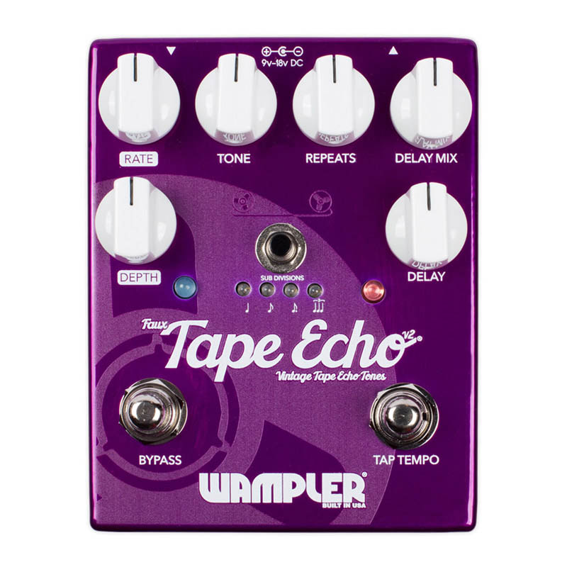 Wampler Pedals Faux Tape Echo v2 【特価】