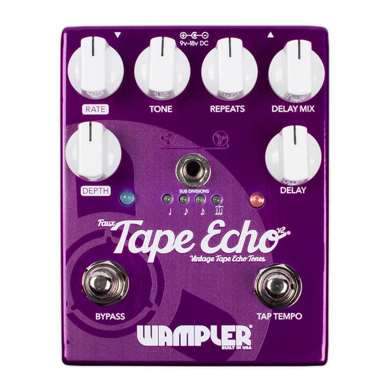 『2年保証』 Wampler Pedals Pedals v2 Faux Tape Echo v2 Echo【特価】, 看板の東進サイン:1a0859e3 --- canoncity.azurewebsites.net