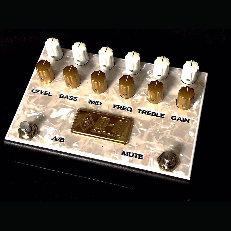Inner Bamboo Bass Instruments DUAL BASS PREAMP II (D-II) 【即納可能】