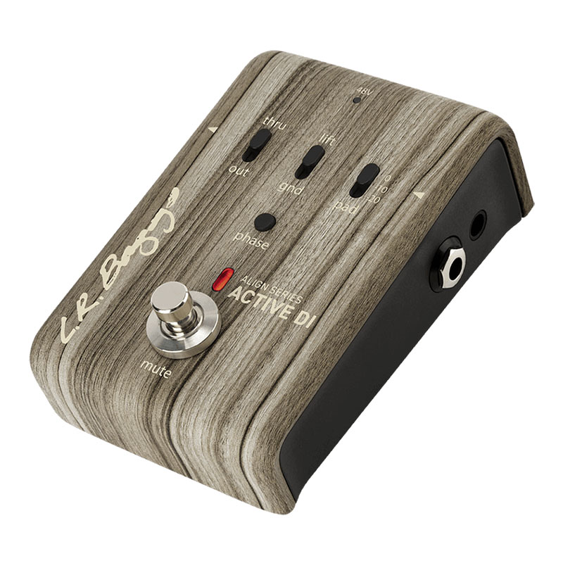 L.R Baggs ALIGN Series ACTIVE DI [All-Discrete Active DI with Pedalboard-friendly Functionality]