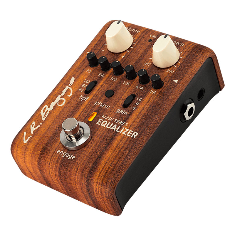 L.R Baggs ALIGN Series EQUALIZER [6-Band EQ and Anti-feedback Notch Filter]