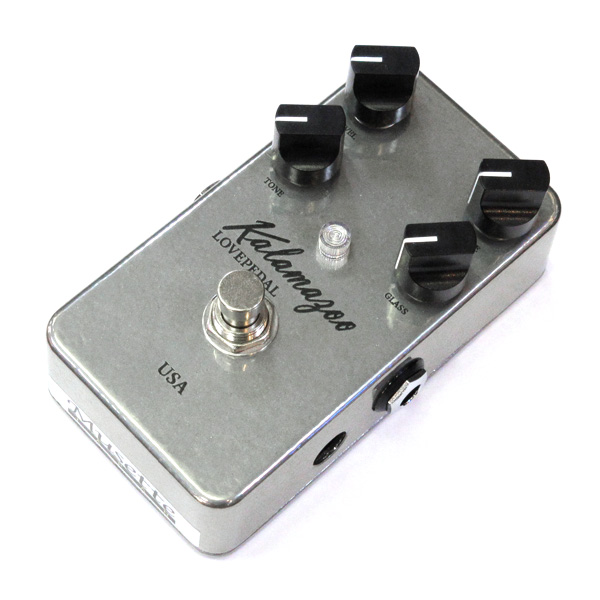 Lovepedal Kalamazoo Overdrive [Chrome] 【特価】