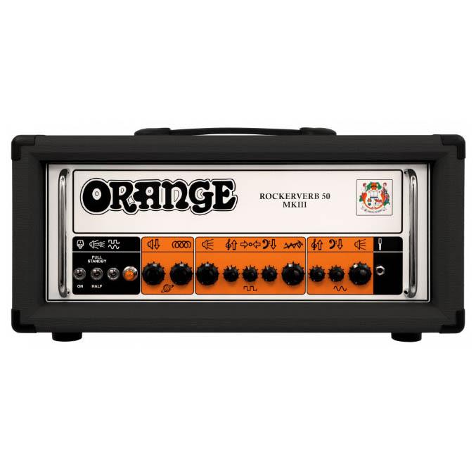 Orange Rockerverb 50 MK III Head [BLACK]