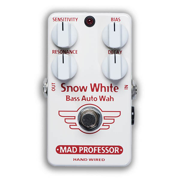 MAD PROFESSOR Snow White Bass Auto Wah [HAND WIRED]