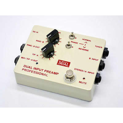 TRIAL DUAL INPUT PREAMP PROFFESIONAL