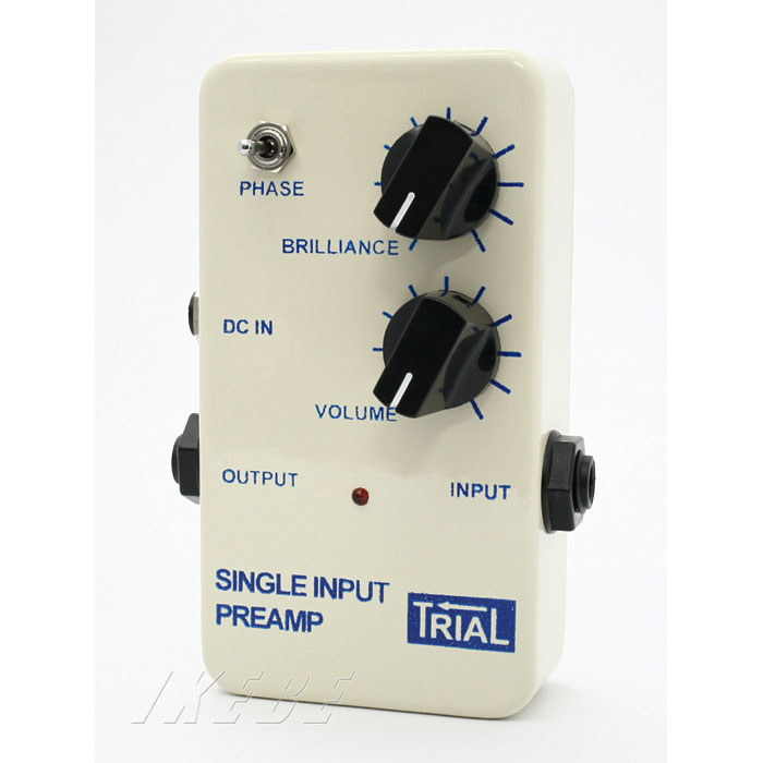 TRIAL SINGLE INPUT PREAMP