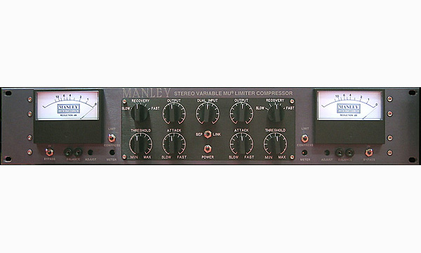 ●MANLEY STEREO VARIABLE-MU LIMITER COMPRESSOR 【受注生産品】