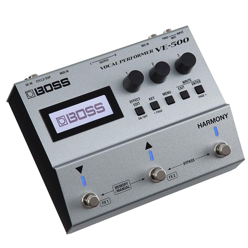 BOSS VE-500 [Vocal Guitar Effector]