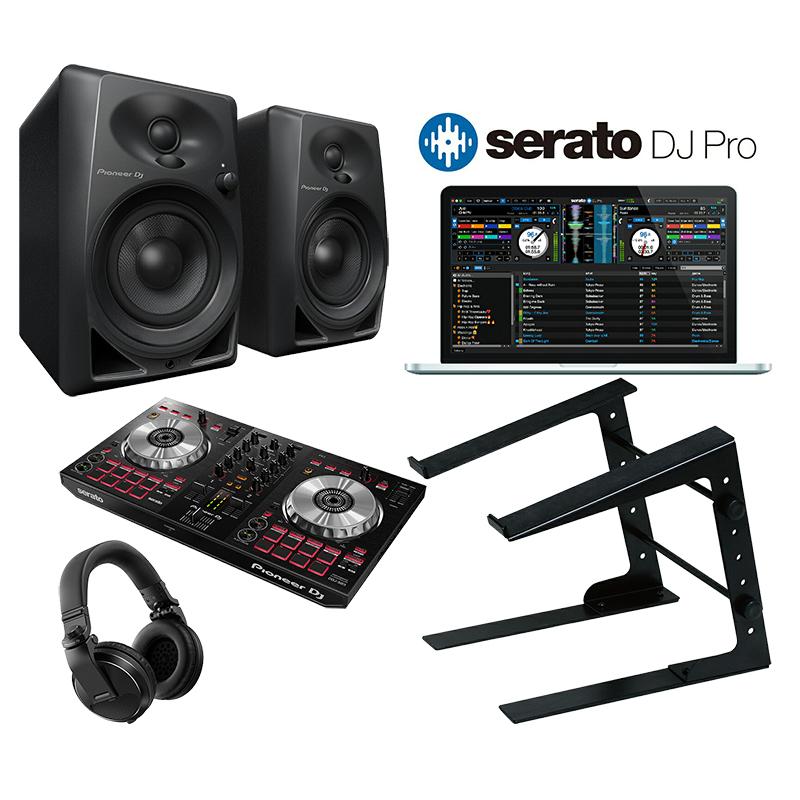 <title>初心者用デジタルDJセット Pioneer DJ DDJ-SB3 + DM-40 Serato 超激安特価 DJで始めるDJ初心者セット</title>