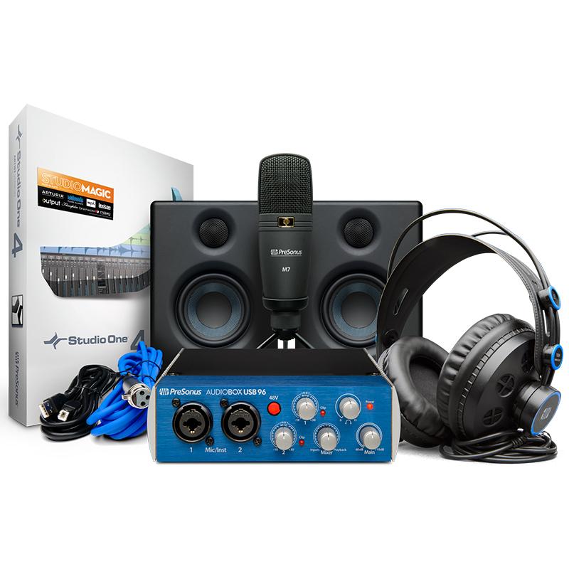 ●Presonus AudioBox 96 Studio Ultimate Bundle 【GET Notion 6 FREE プロモーション対象】