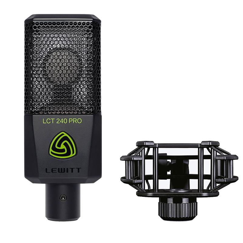 ●LEWITT LCT 240 PRO ValuePack Black 【数量限定価格】