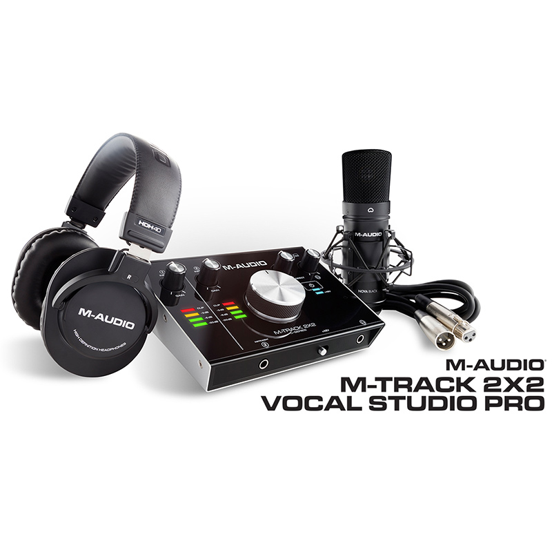 ●M-Audio M-Track 2X2 Vocal Studio Pro