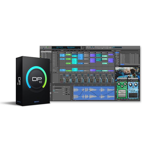 ●MOTU Digital Performer 10 クロスグレード版 ※ご購入後に別途クロスグレード申込書のご呈示が必要となります。【簡易パッケージ販売】