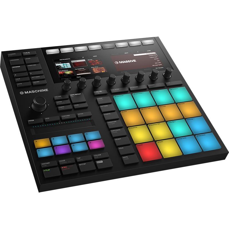 信託 DJ向けグルーブ作成ソフトウェア コントローラーパッケージ NativeInstruments MASCHINE MK3 ※アウトレット品