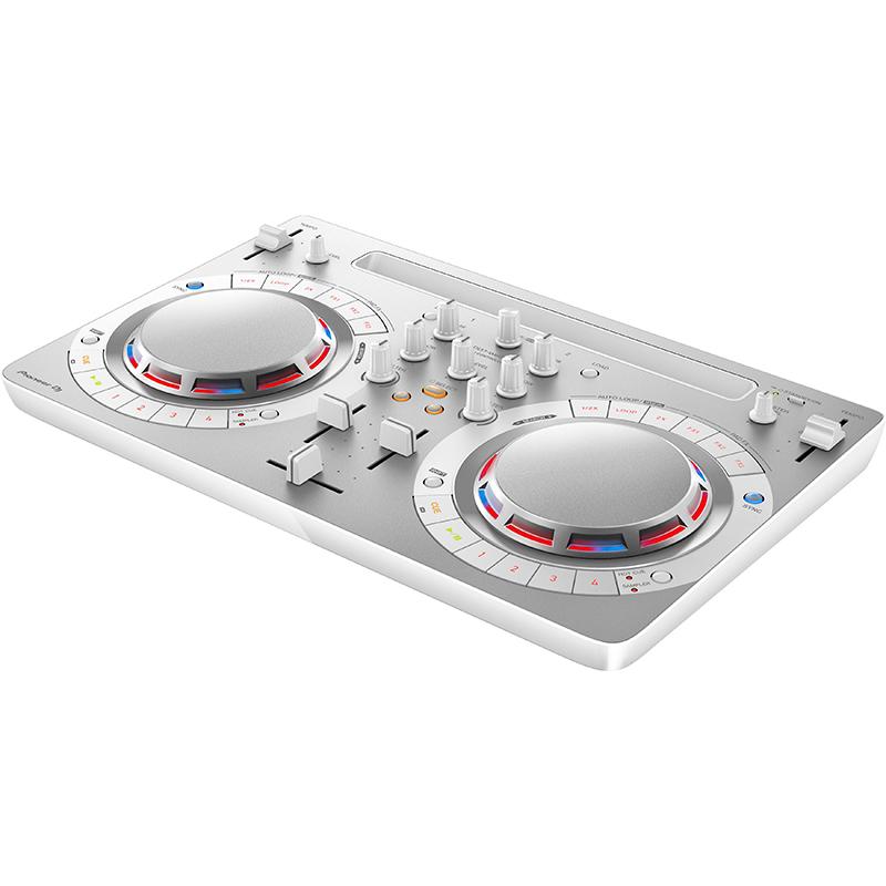 ●Pioneer DJ DDJ-WeGO4 White + HDJ-500-W SET