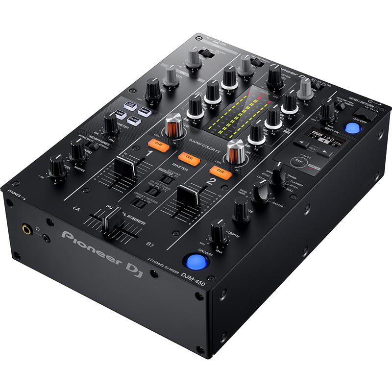 ●Pioneer DJ DJM-450 [rekordbox DJ&rekordbox dvsライセンスキー付き] 【数量限定 Decksaver DS-PC-DJM450 プレゼント!】