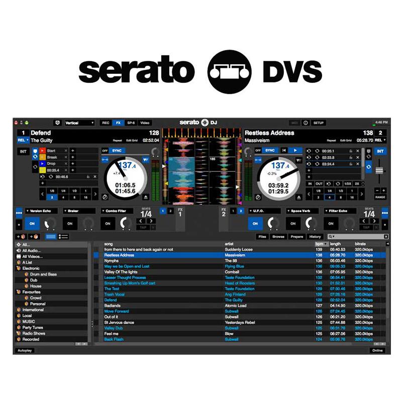 ●Serato Serato DVS [インストールガイド及びライセンスカードのみ]