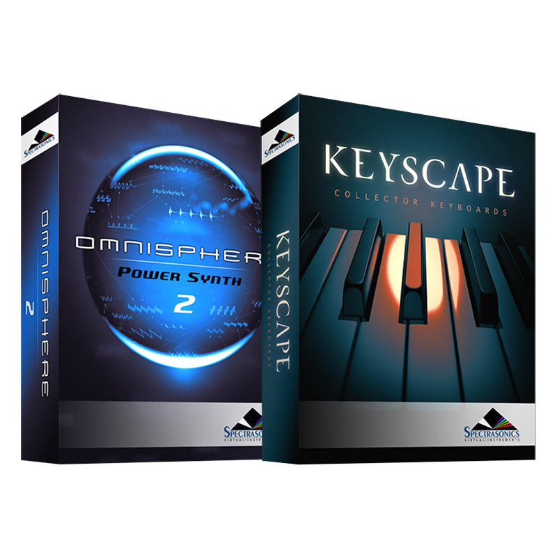 ●SPECTRASONICS Omnisphere 2 + KEYSCAPE set [USB Drive 版] 【Spectrasonics 2018 Summer Sale!】
