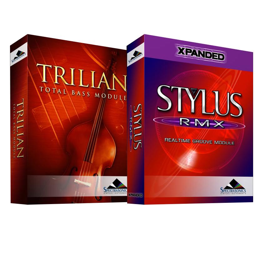 ●SPECTRASONICS Trilian + Stylus RMX Xpanded set [USB Drive 版]