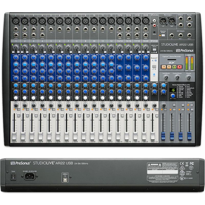 ●Presonus StudioLive AR22 USB