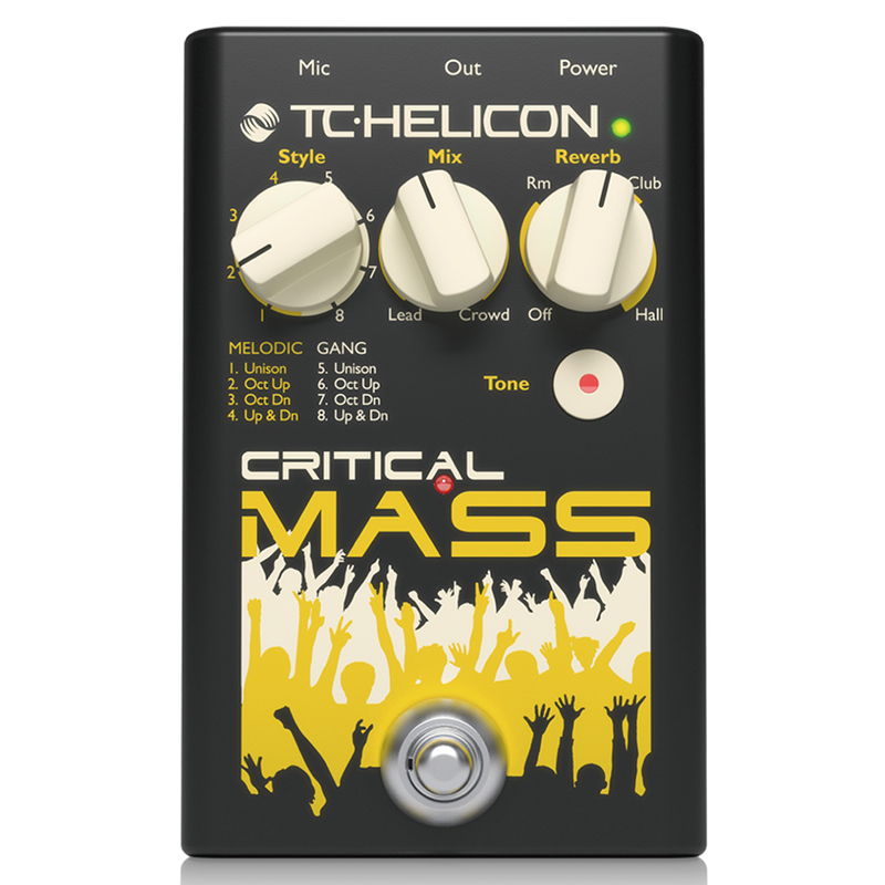 ●TC Helicon CRITICAL MASS 【限定タイムセール】