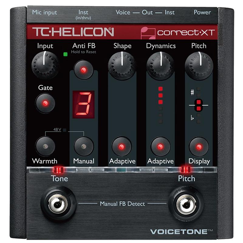 ●TC Helicon VOICETONE CORRECT XT