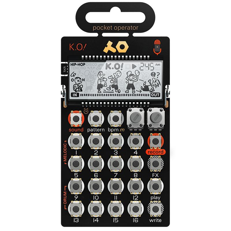 ●Teenage Engineering PO-33 K.O! Pocket Operator