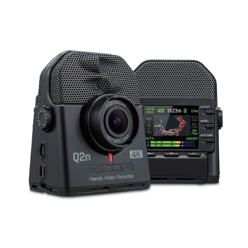 【オーディオ&ムービーレコーダー】 ●ZOOM Q2n-4K Handy Video Recorder