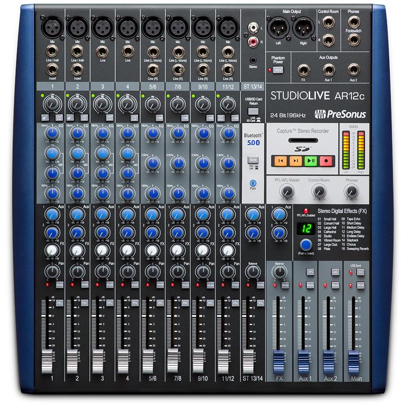 【あす楽対応】 PreSonus StudioLive AR12c