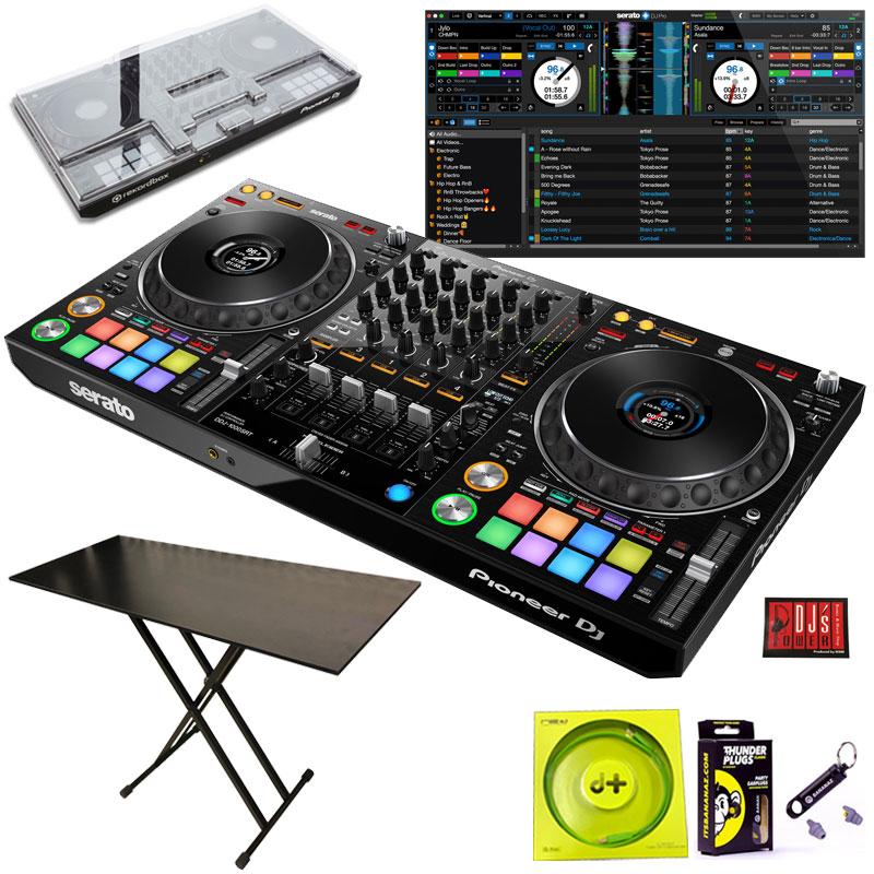 ●Pioneer DJ DDJ-1000SRT + DJT29 DJテーブル セット【今なら豪華4大特典プレゼント!】 【さらに初回限定Serato DJ Suiteプレゼント!】