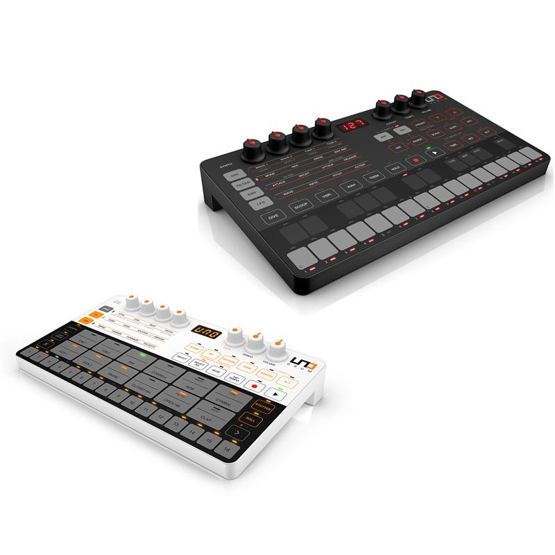 ●IK Multimedia UNO Drum + UNO Synth SET 【数量限定UNOシリーズに使用可能なモバイルバッテリープレゼント!】