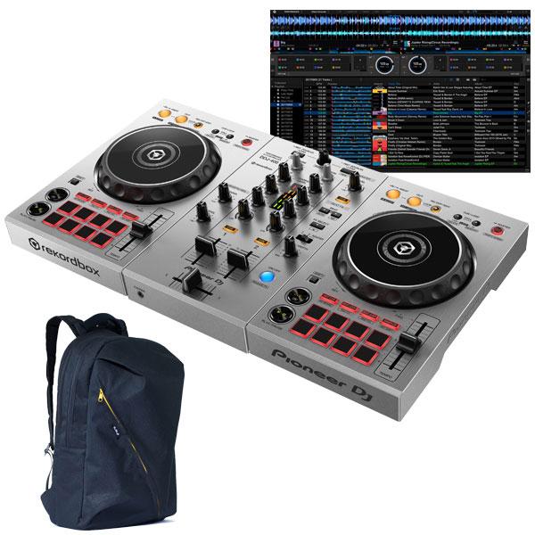 ●Pioneer DJ DDJ-400-S + UF-400 DJ用バックパックセット [国内池部楽器店限定モデル] 【Power DJ'sオリジナル djayアプリ接続ガイドPDFプレゼント!】