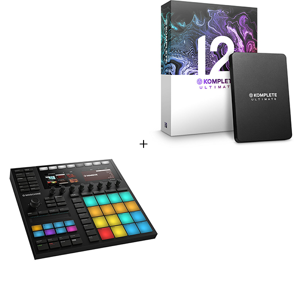 ●Native Instruments MASCHINE MK3 + KOMPLETE 12 ULTIMATE UPG for SELECT 【期間限定セット】 【SUMMER OF SOUND 2019キャンペーン価格】