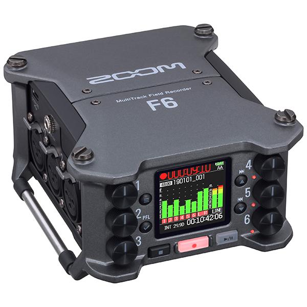 ●ZOOM F6 [6chフィールドレコーダー] 【7月以降発売予定】